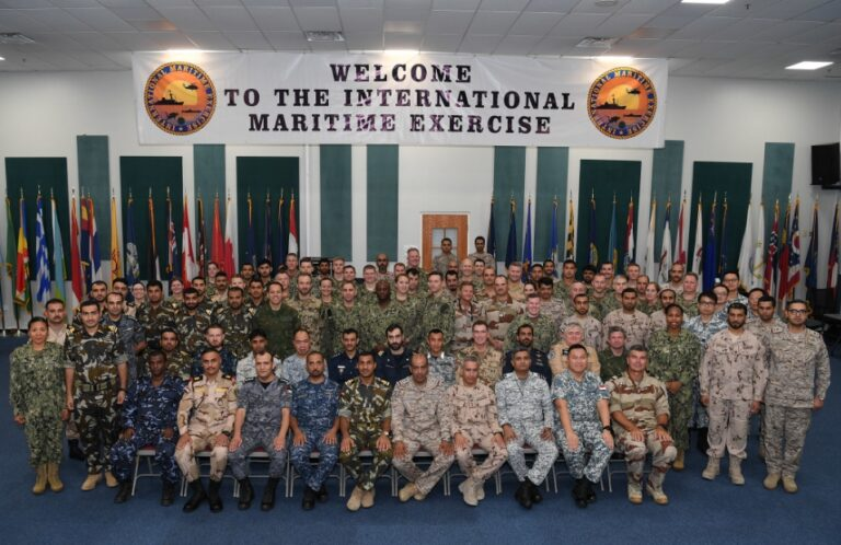U.S. Commenced International Maritime Exercise 2019 in the Persian Gulf
