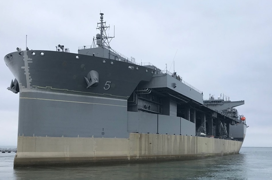 us navys special ops support ship miguel keith esb 5 passes acceptance trials - naval post- naval news and information