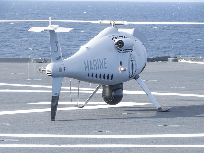 camcopter on mistral - naval post- naval news and information