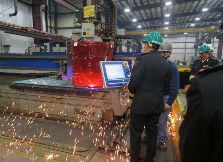 Fincantieri Cuts Steel For the First MMSC of Saudi Navy