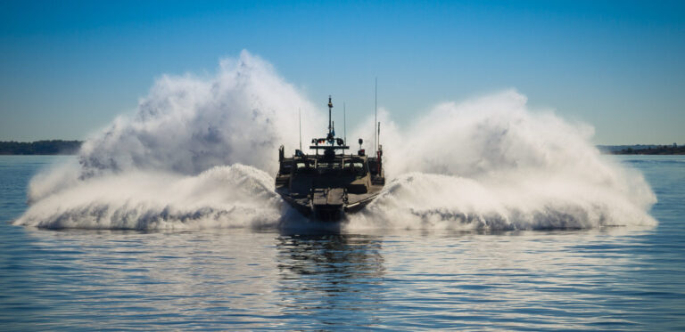 """Saab Delivered New Combat Boat """"CB90 HSM"""" to Swedish Navy"""