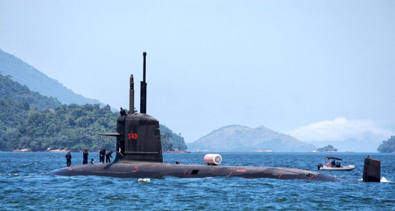 Brazilian Riachuelo submarine passed first static immersion tests