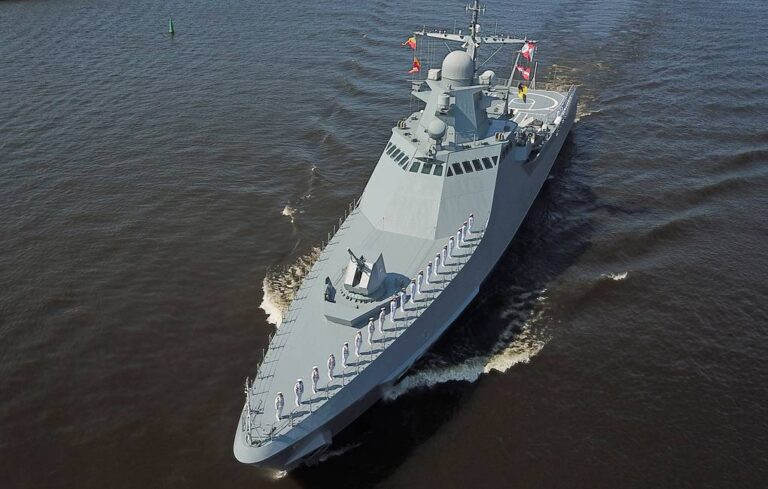Russian Patrol Ship to make exercises with navies of South Med Countries