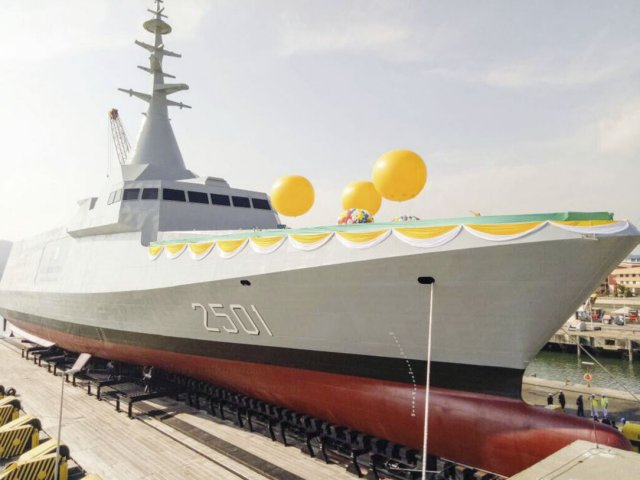 Malaysia's LCS project faced latency due to the contractor's failure