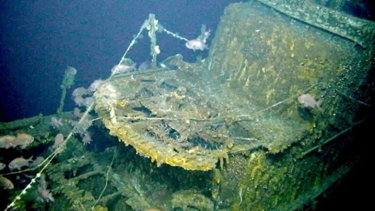 Wreckage of USS Grayback Submarine Found After 75 Years