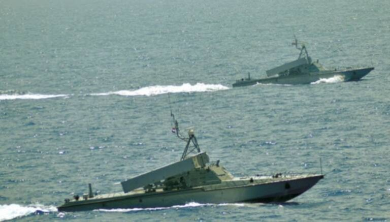 Russia conducts drills with Syrian naval assets