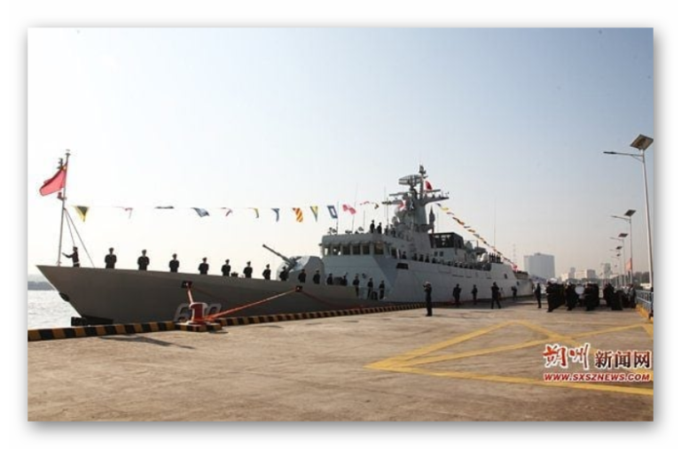China commissioned two more Type 056 Jiangdao Class Frigate