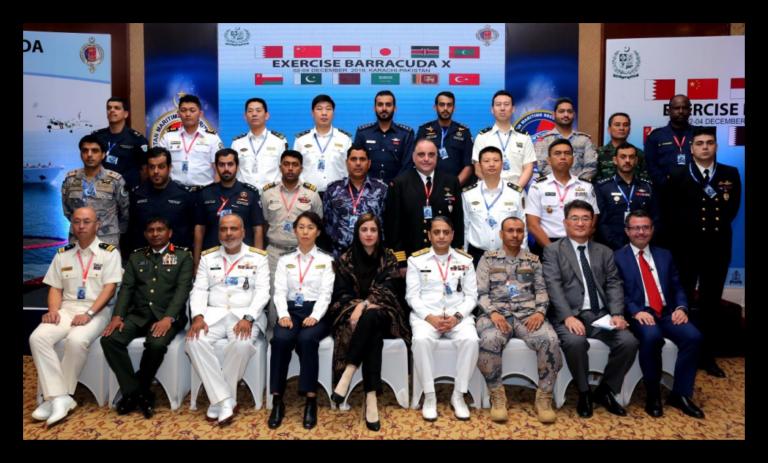 "Pakistan Hosts International Maritime Oil Spill Exercise ""Barracuda-X"""