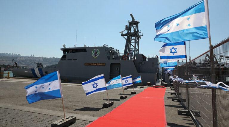 Israel Shipyards Delivered OPV-62 to Honduran Navy