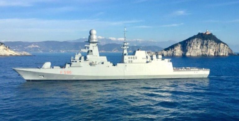 Italy sends a frigate to East-Med to Protect ENI's drill activities