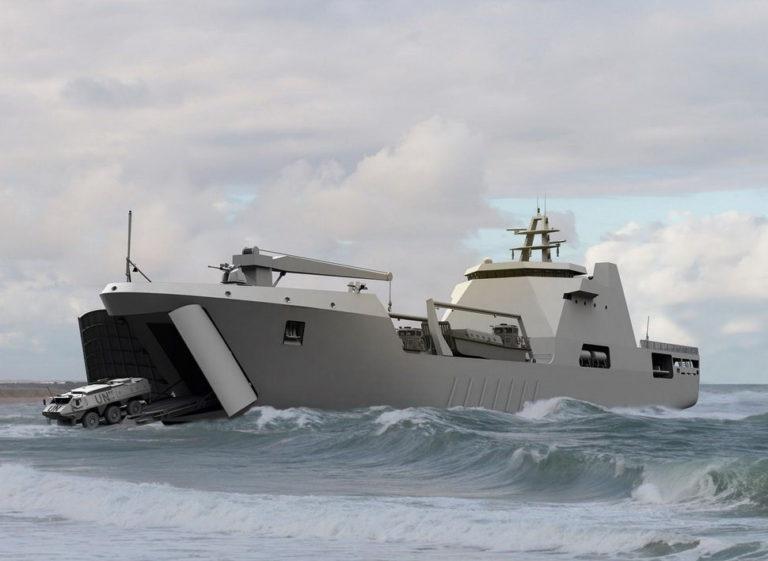 Damen Shipyards lays keel of Nigerian Navy's new Landing ship