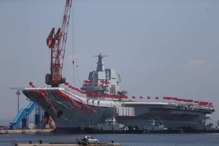 """China commissions second aircraft carrier """"Shandong"""""""