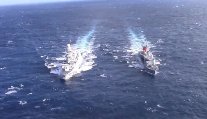 Turkish and Italian Naval Assets Conducted PASSEX at East-Med