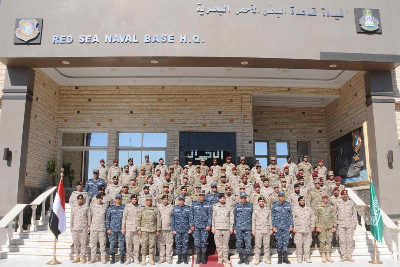 "Egypt and Saudi Arabia conduct ""Morgan-16"" exercise at Red Sea"