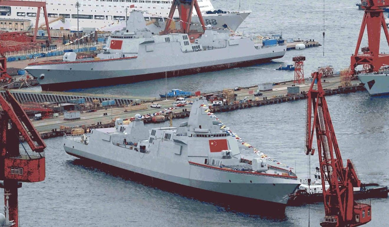 China to stop building corvettes as navy prefers destroyers
