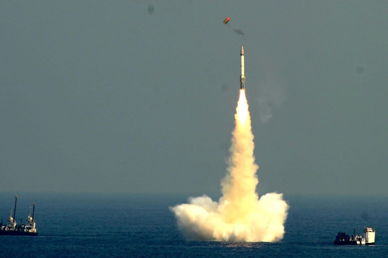 India test-fires sub-launched ballistic missile for the second time in a week