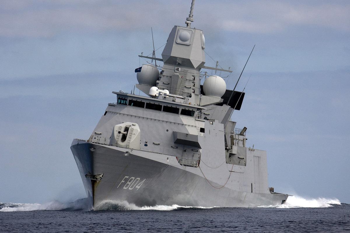 Dutch frigate De Ruyter completed preparations for Strait of Hormuz mission