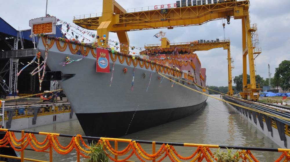 Indian navy to welcome new ASW stealth corvette soon