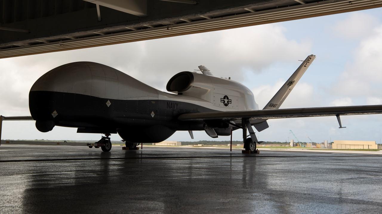 U.S. Navy's Triton UAS Arrives in 7th Fleet