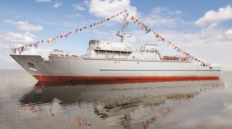 4th Alexandrit Class Minesweeper to float out January 29