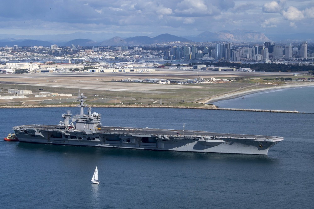 Theodore Roosevelt Carrier Strike Group departs for Indo-Pacific deployment