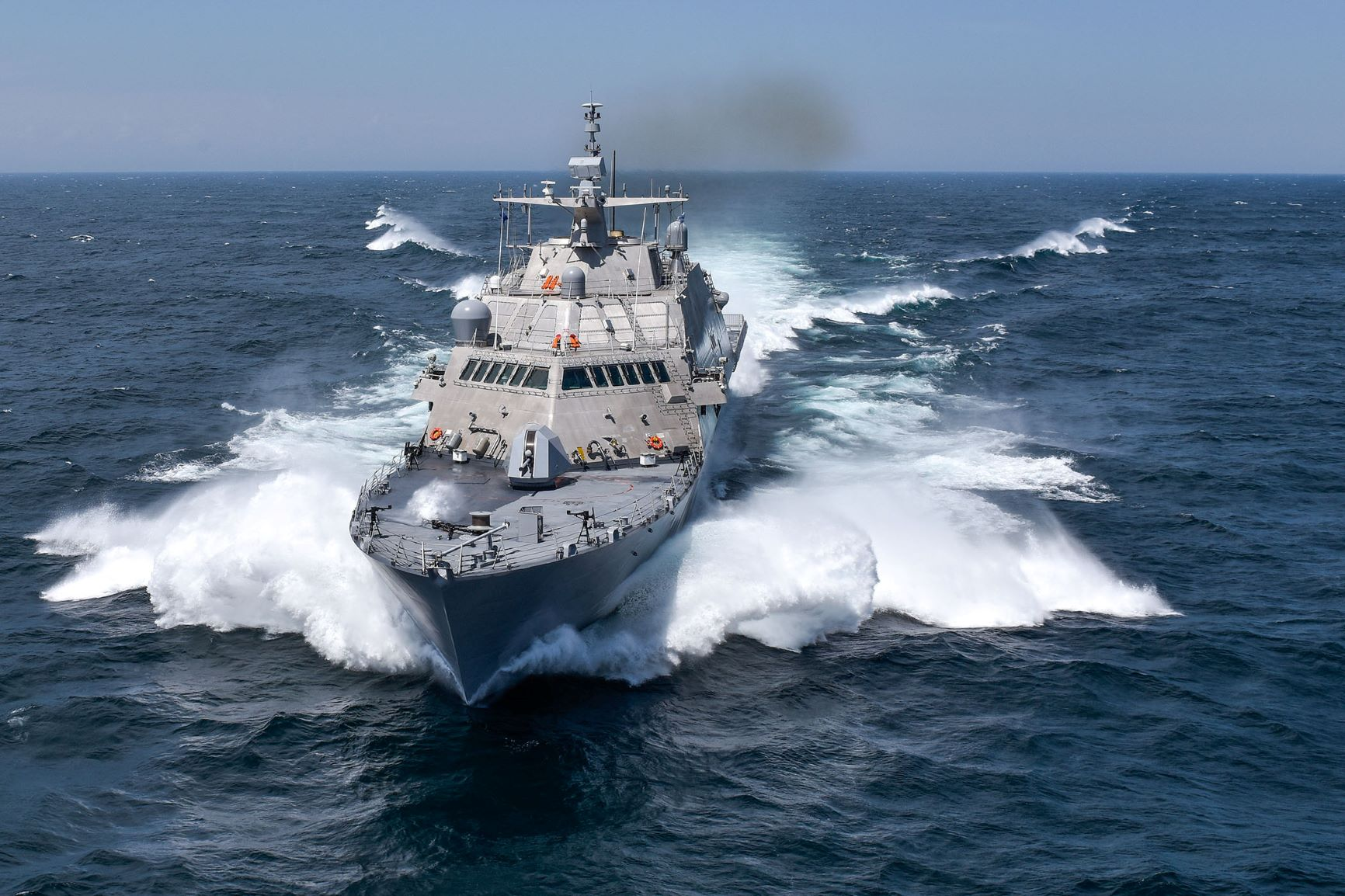 USS Detroit Completes Its Monthly Maintenance