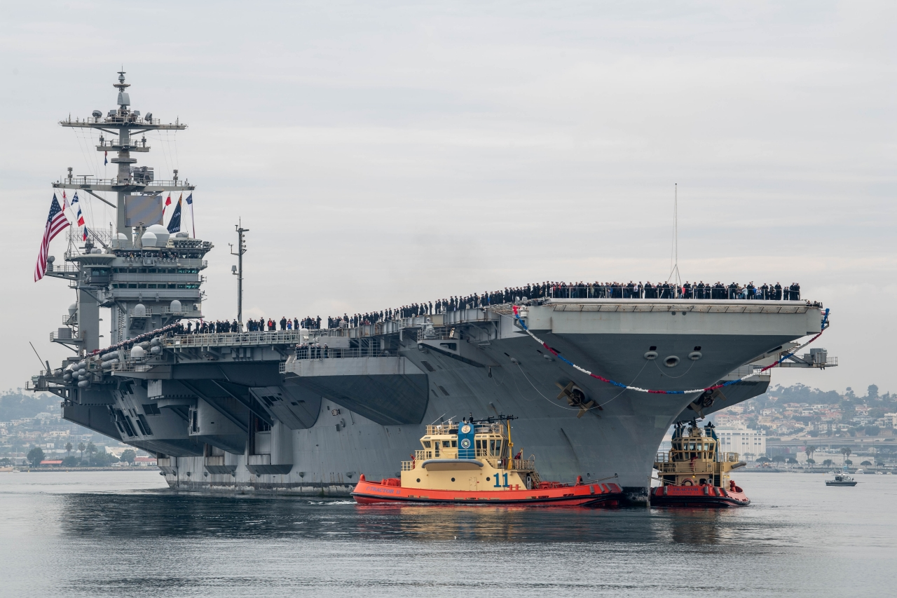 Abraham Lincoln Carrier Strike Group Arrives in San Diego after 295-day Deployment