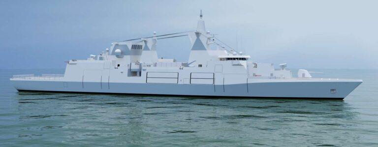 Dutch Damen Shipyard wins contract for German Navy's multi-purpose combat ship