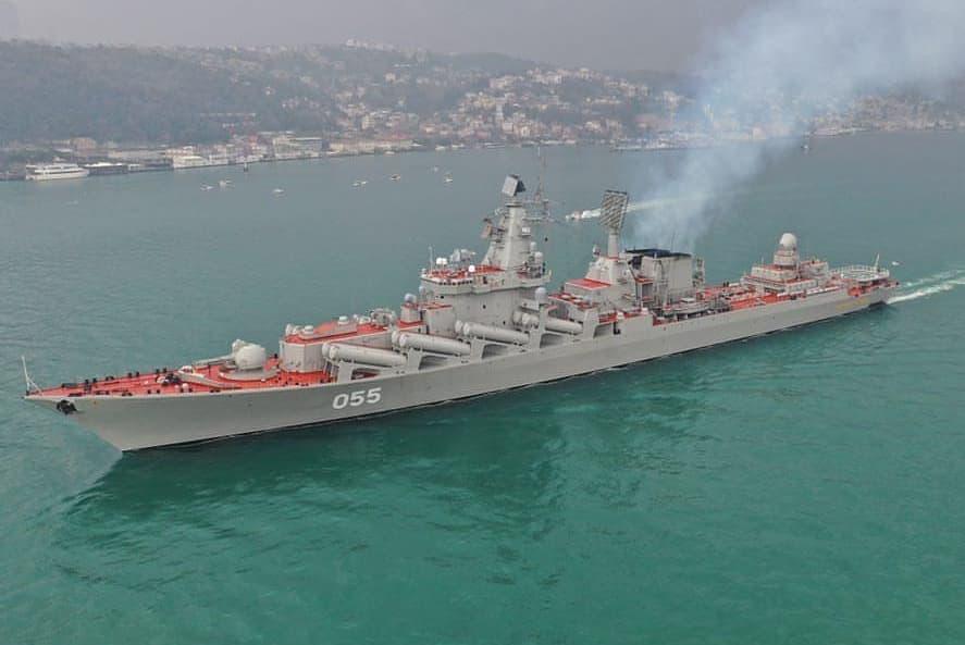 russian cruiser marshal ustinov