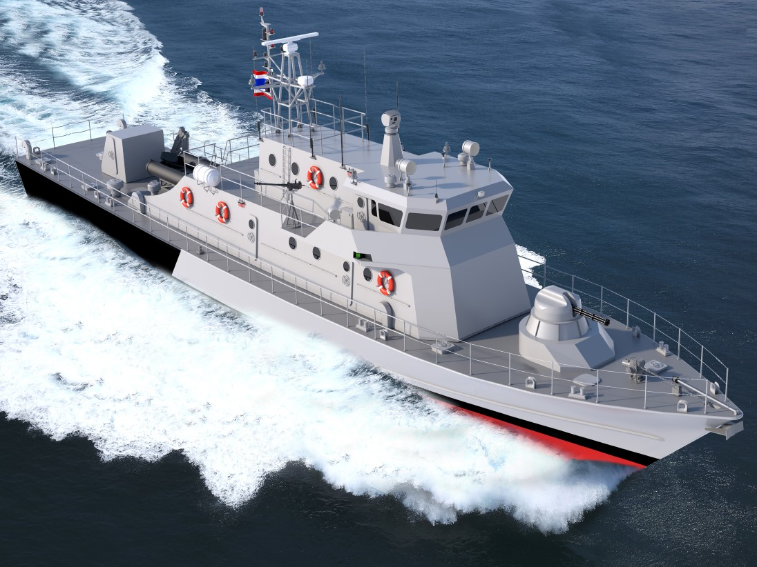 MAN to manufacture engines of Royal Thai Navy's new patrol vessels