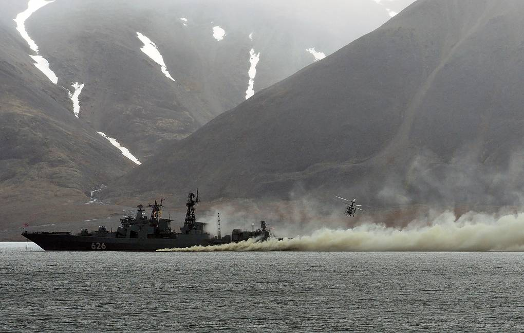 Russian naval assets conducts drills in Atlantic