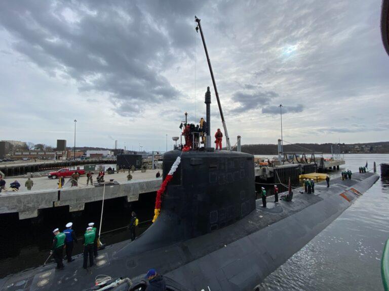 USS Colorado Returns Home