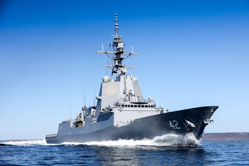 awd sydney sea trials 009 - naval post- naval news and information