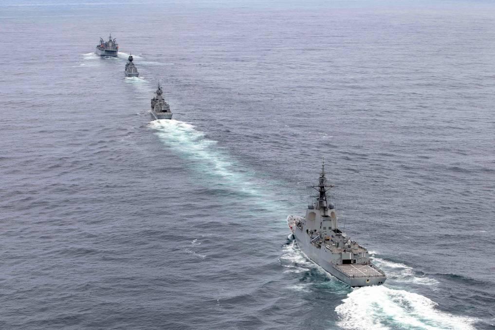 australian warships - naval post- naval news and information