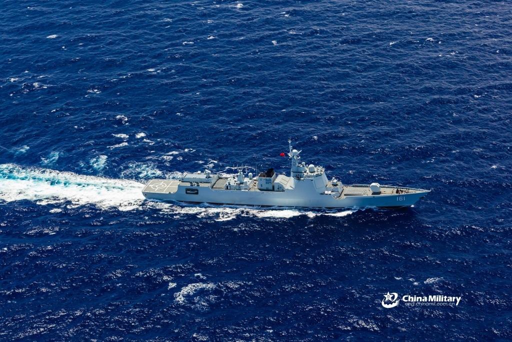 china navy hohhot 161 - naval post- naval news and information