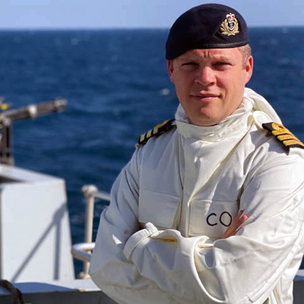 commander charles collins - naval post- naval news and information