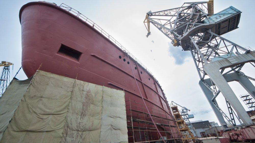 construction at yantar - naval post- naval news and information