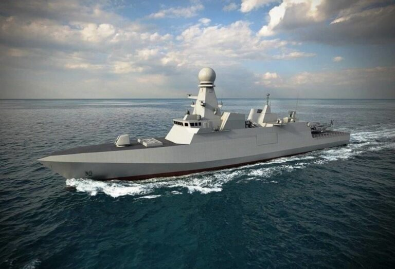 Fincantieri launches the first corvette for Qatar