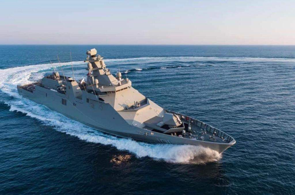 Damen delivers POLA Class OPV to the Mexican Navy