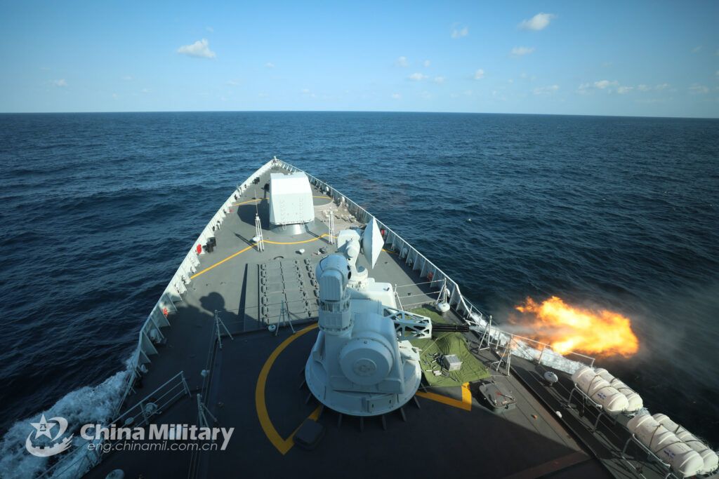guided missile destroyer yinchuan hull 175 - naval post- naval news and information