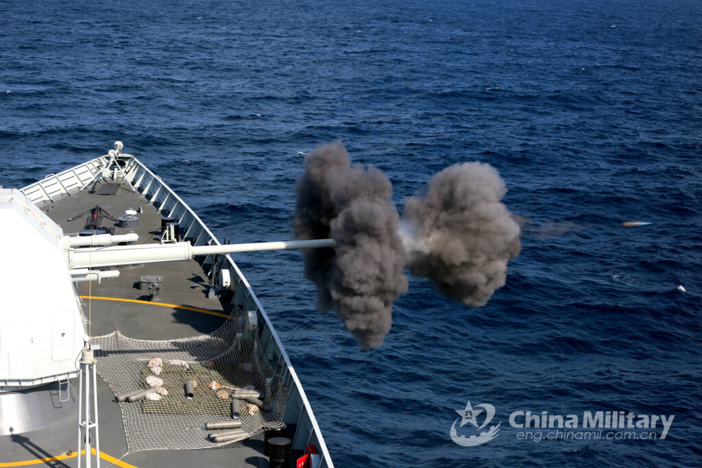 guided missile destroyer yinchuan hull 175 main gun - naval post- naval news and information