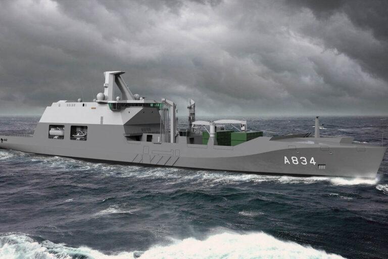 Damen-led huge consortium to contribute Dutch combat support ship