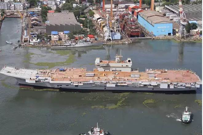 ins vikrant 440 - naval post- naval news and information