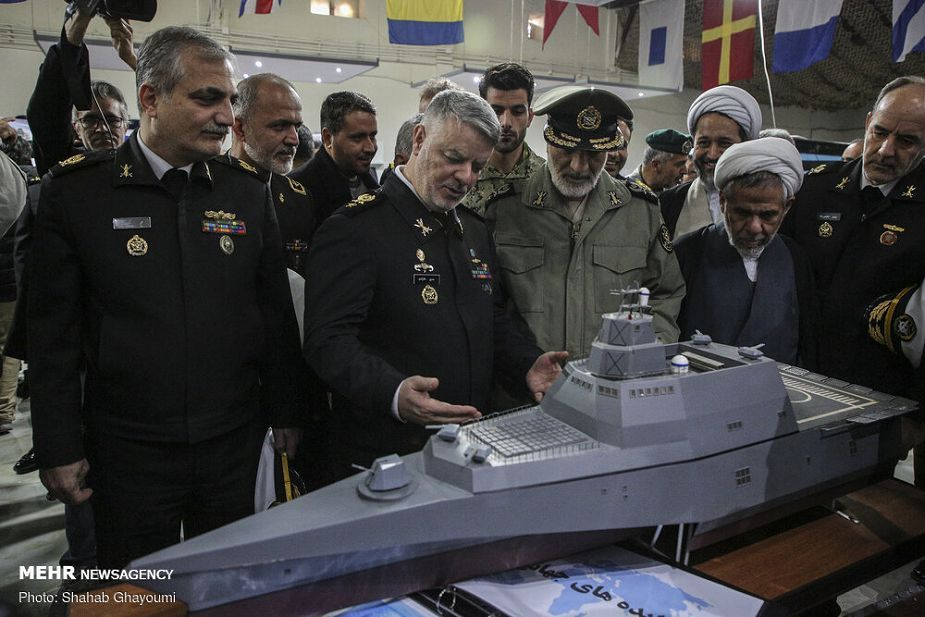 iran has unveiled trimaran warship design safineh guided missile destroyer project 925 001 - naval post- naval news and information
