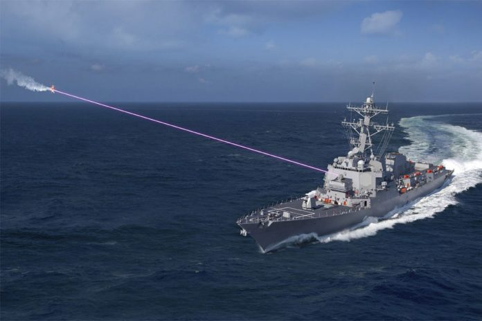 U.S. Navy Equips First Destroyer with Drone-Stopping Laser