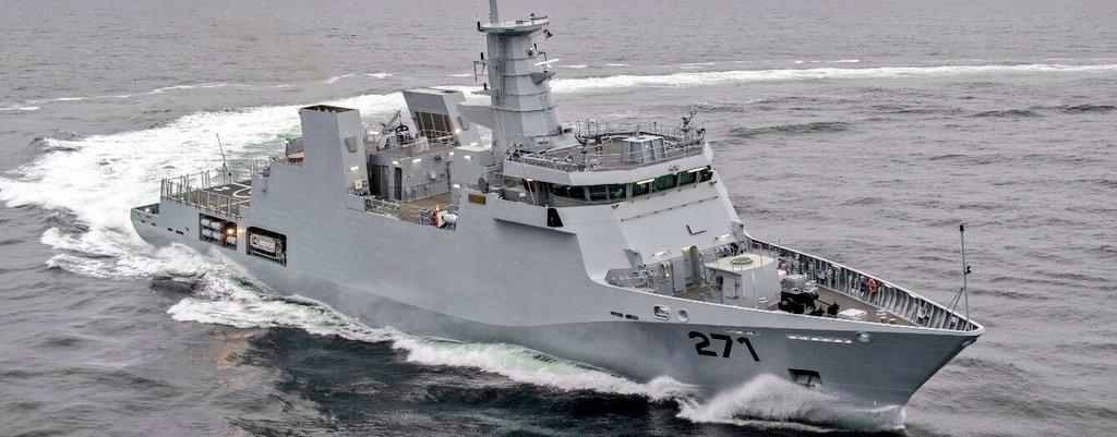 Pakistan Navy Commissions 2300 Ton Corvette, PNS Yarmook
