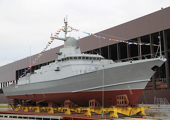 "Harbour trials of Karakurt Class Corvette ""Odintsovo"" begins"