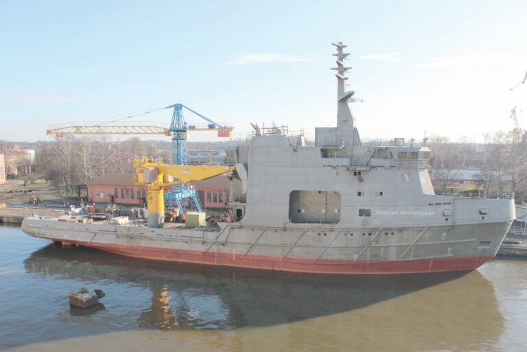 Yantar Shipyard to resume the construction of Russian Oceanographic Research Vessel
