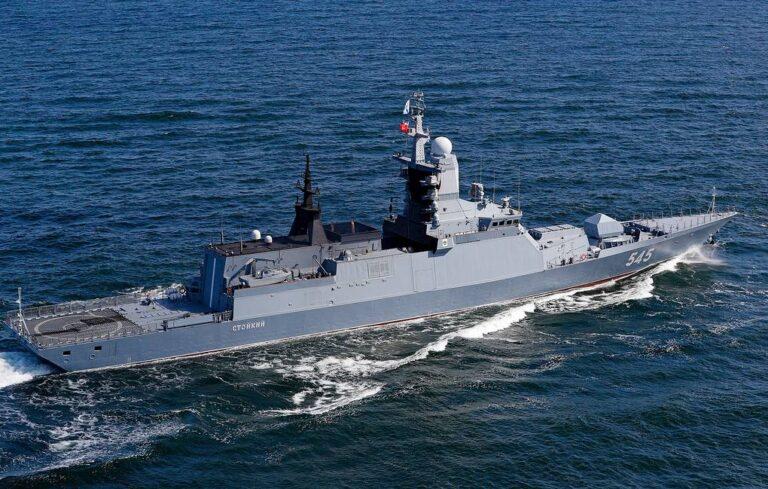 Russian Baltic Fleet ships left homeport for Atlantic deployment