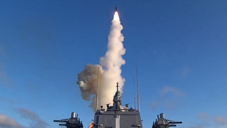 First Ship-Based Zircon Hypersonic Missile Test-Fired by Russian Navy